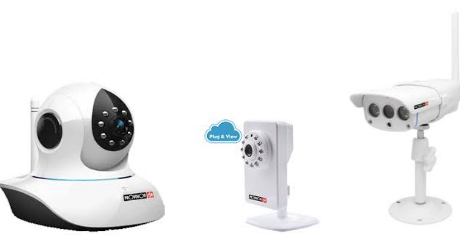 Câmaras IP 1MP Série Plug & View